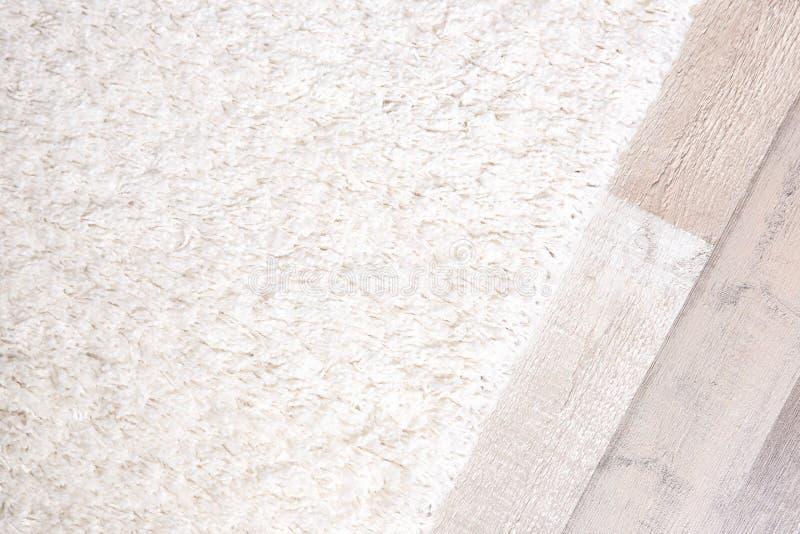 轻的软的地毯 免版税库存图片