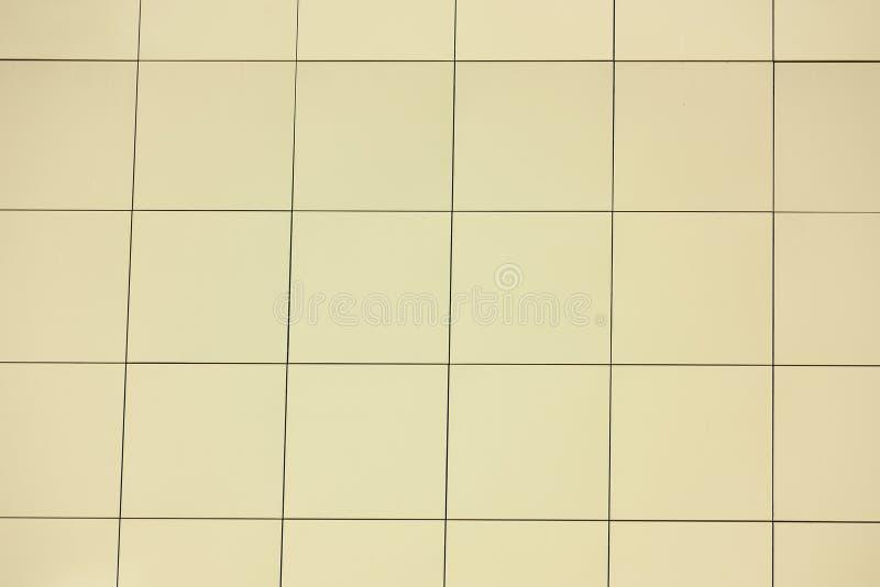 轻矩形瓦纹理 免版税库存图片
