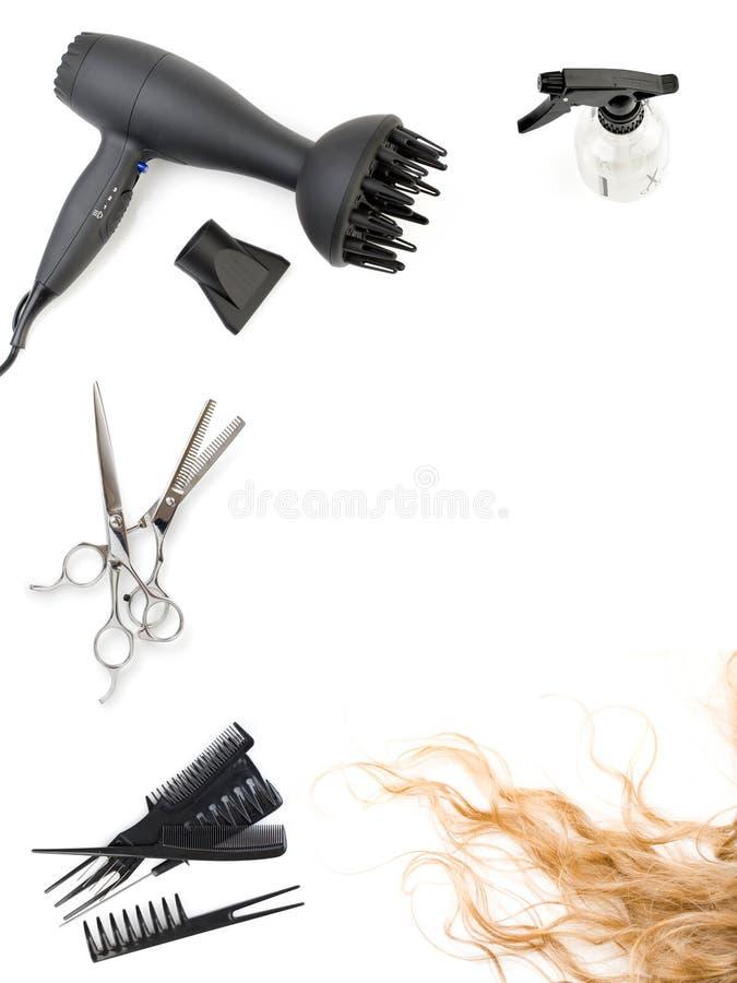 辅助部件发型 免版税图库摄影