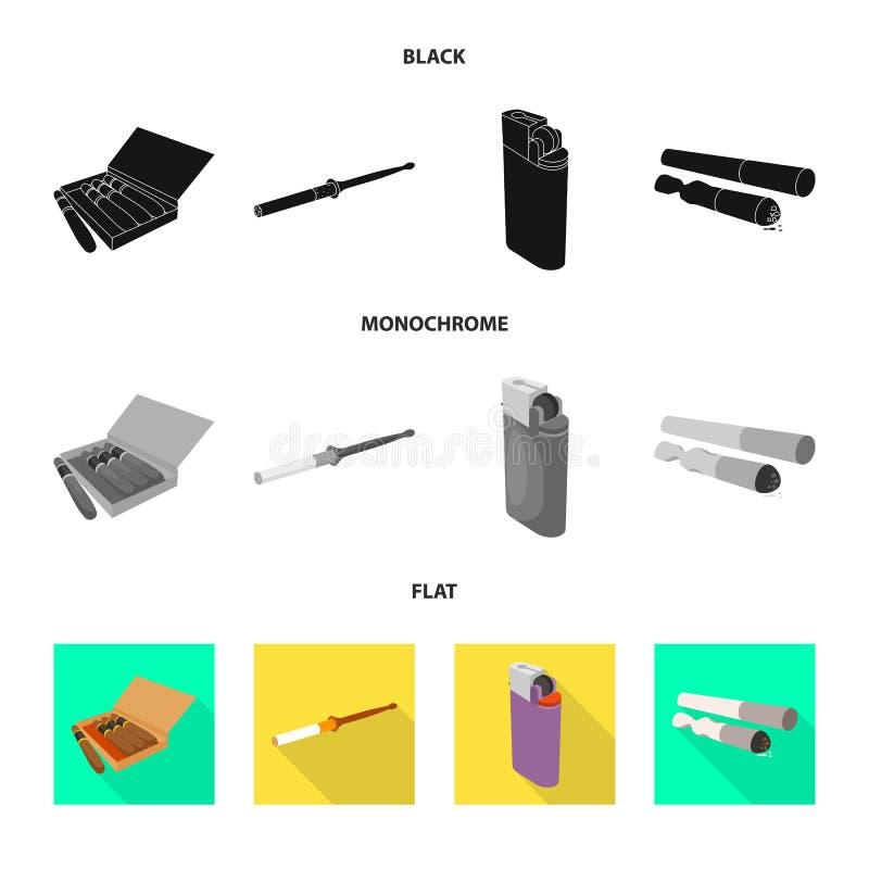 辅助部件和害处商标被隔绝的对象  设置辅助部件和幸福感储蓄传染媒介例证 向量例证
