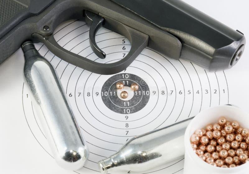 辅助部件手枪 免版税库存照片