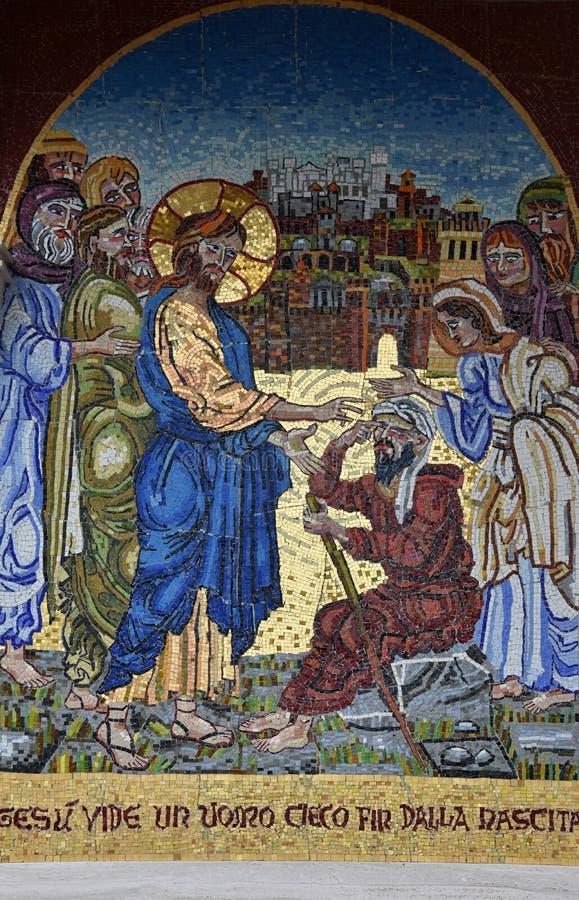 辉煌的圣所玛丹娜在朱利亚诺瓦 库存照片