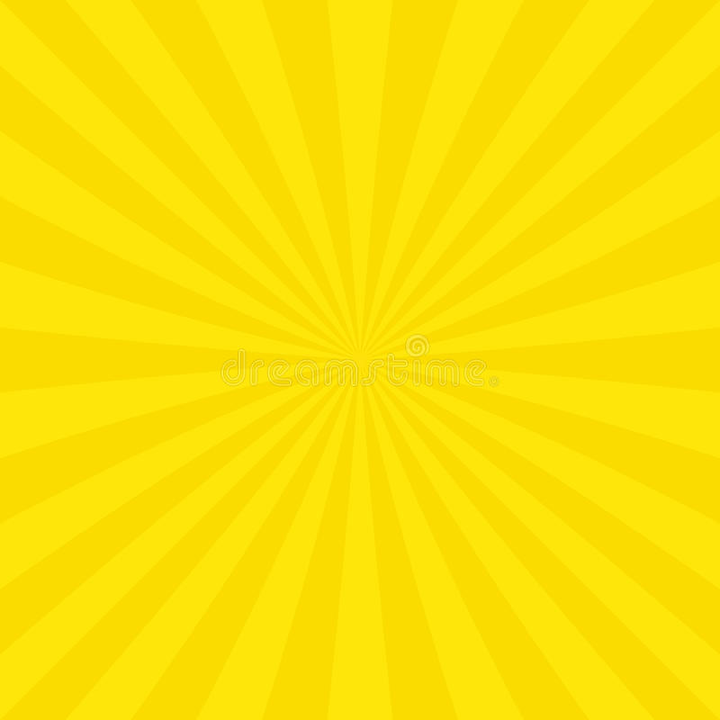 从辐形条纹的抽象太阳爆炸背景 向量例证