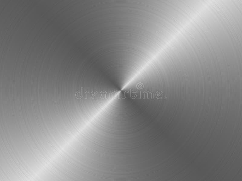 辐形金属纹理 皇族释放例证