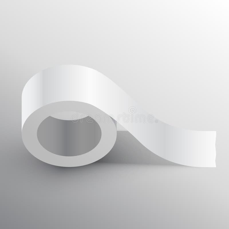 输送管作为黏着性大模型模板 向量例证