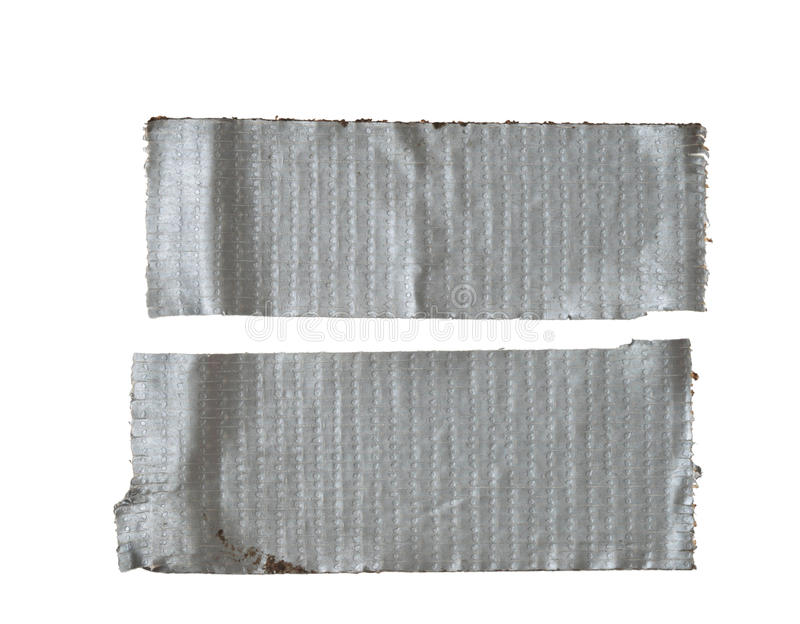 输送管查出的磁带 免版税库存图片