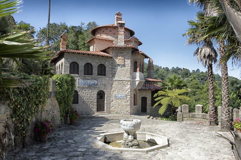 辛特拉,葡萄牙,传统房子 免版税图库摄影