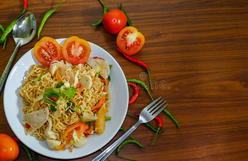 辣椒和蕃茄 库存图片