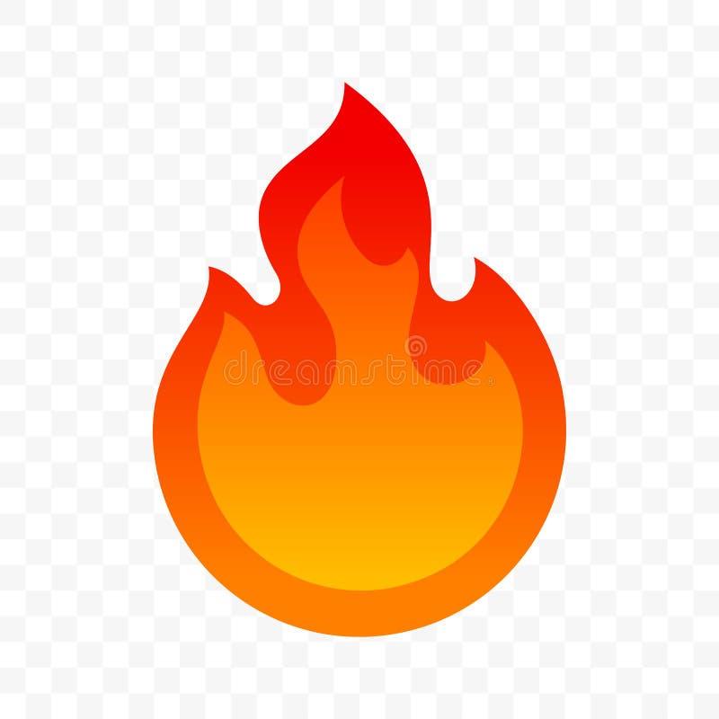 辣辣椒热的火火焰象 导航辣便当和调味汁包裹火烧伤标签 皇族释放例证