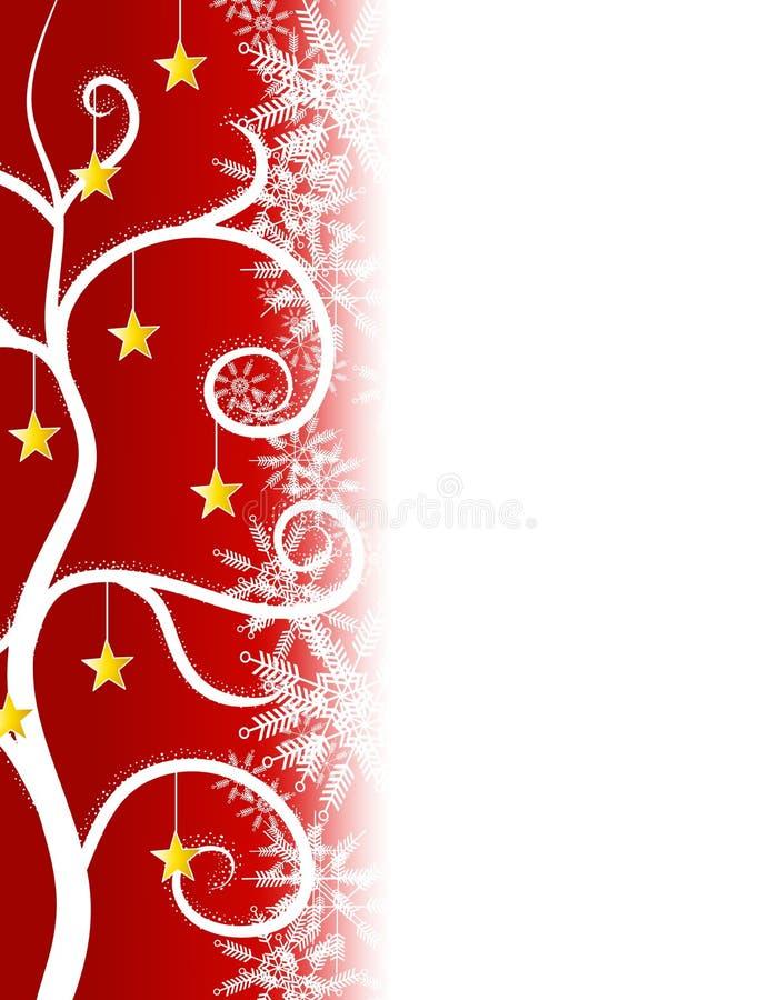 边界圣诞节红色担任主角结构树 皇族释放例证