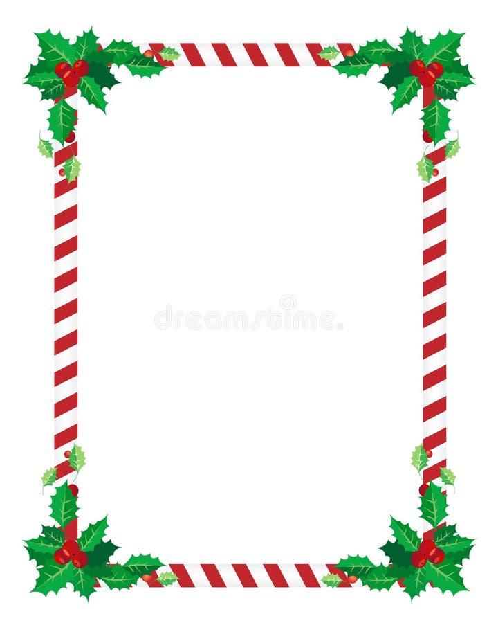 边界圣诞节 皇族释放例证