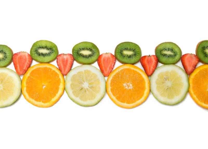 边界果子 免版税库存图片