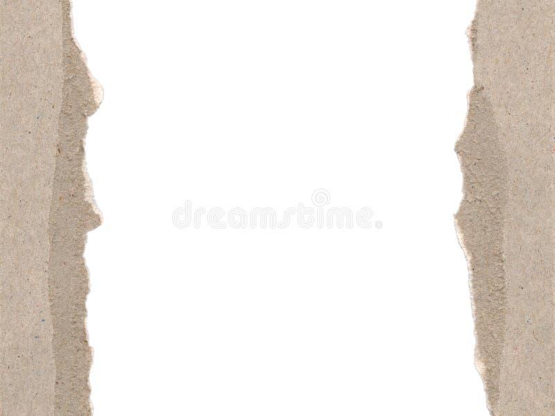 边界纸板 免版税库存图片