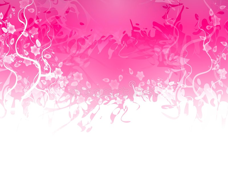 边界花粉红色纹理 皇族释放例证