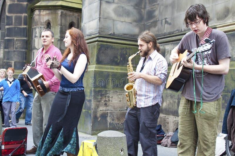 边缘节日爱丁堡 免版税库存图片