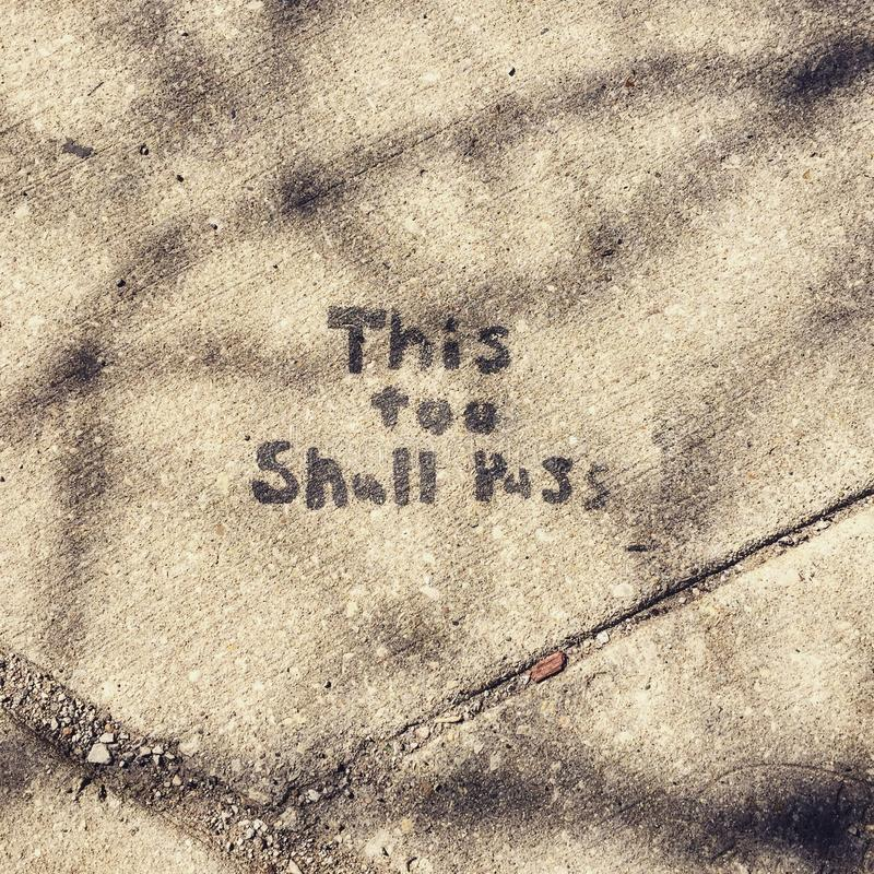 边路艺术在芝加哥林肯公园邻里  免版税库存图片