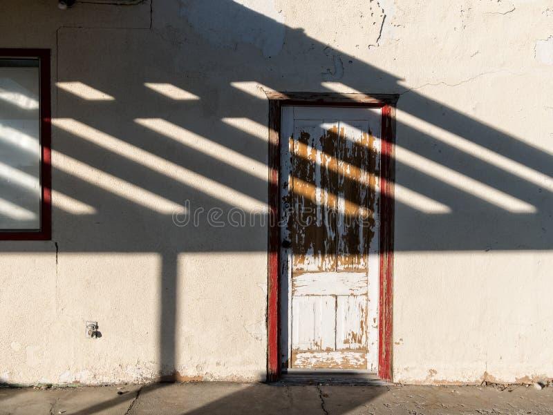 边门 免版税图库摄影
