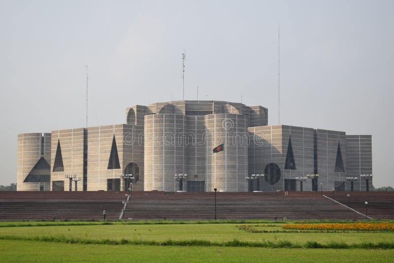 达卡,孟加拉国,- 2019年1月,27日:全国澳洲国会大厦, 库存照片