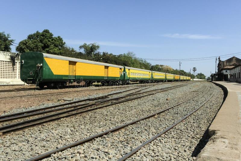 达喀尔尼日尔铁路,巴马科 免版税库存照片