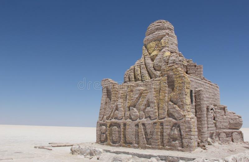 达喀尔种族纪念碑在玻利维亚 库存照片