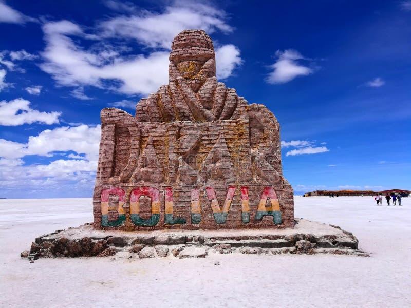 达喀尔种族集会在玻利维亚 免版税图库摄影