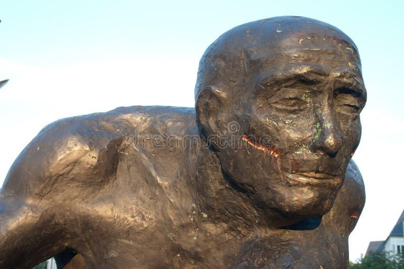 达姆施塔特雕象 免版税库存图片