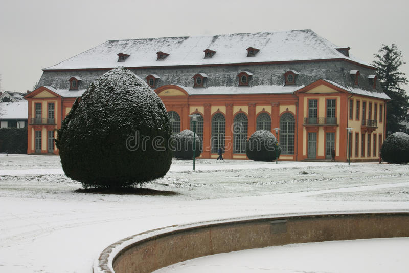 达姆施塔特Orangerie 免版税库存图片