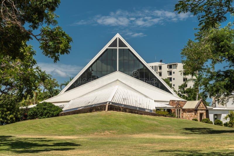 达尔文基督教会大教堂,澳大利亚 免版税图库摄影