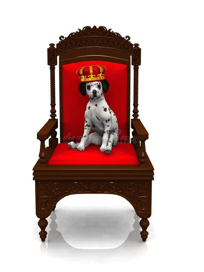 达尔马希亚王子小狗 库存例证