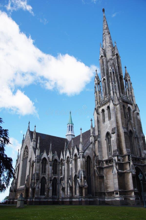 达尼丁教会,新西兰 库存图片