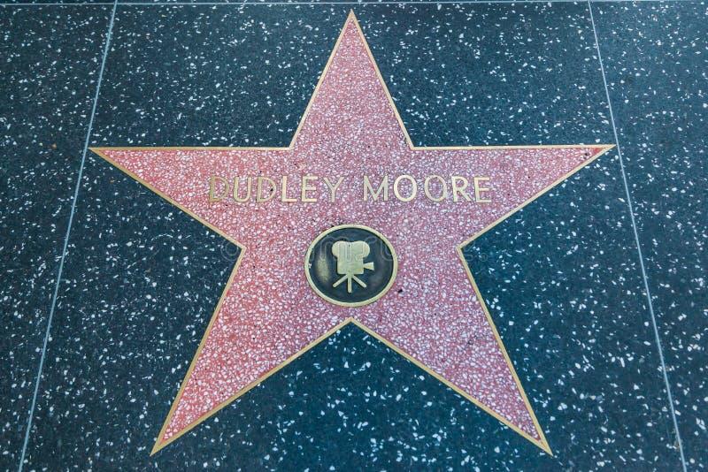 达德利穆尔好莱坞明星 库存照片