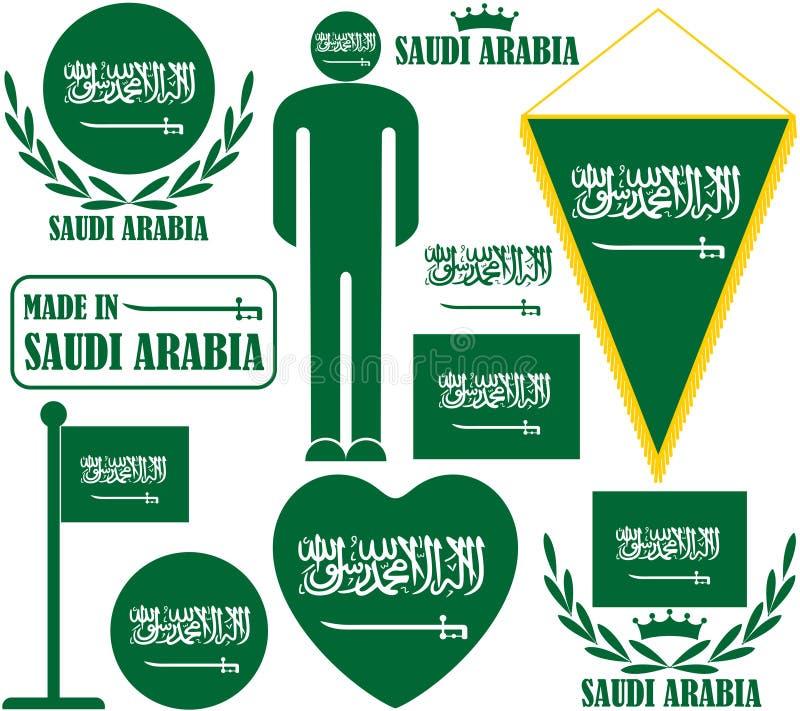 达成协议阿拉伯半岛地区夹子上色了海拔greyed包括映射路径替补沙特被遮蔽的状态周围的领土 库存例证