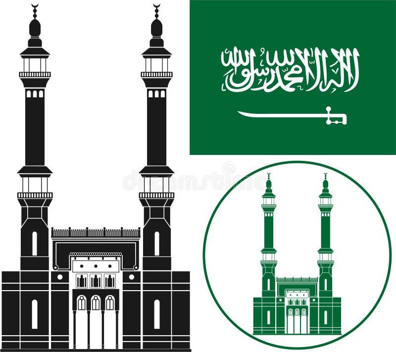 达成协议阿拉伯半岛地区夹子上色了海拔greyed包括映射路径替补沙特被遮蔽的状态周围的领土 皇族释放例证