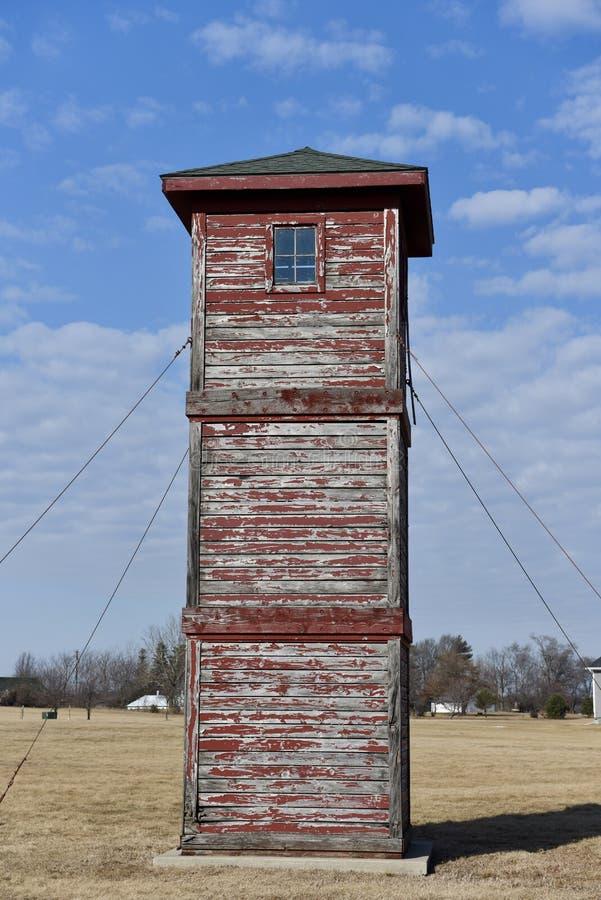 达拉斯县了望塔 库存照片