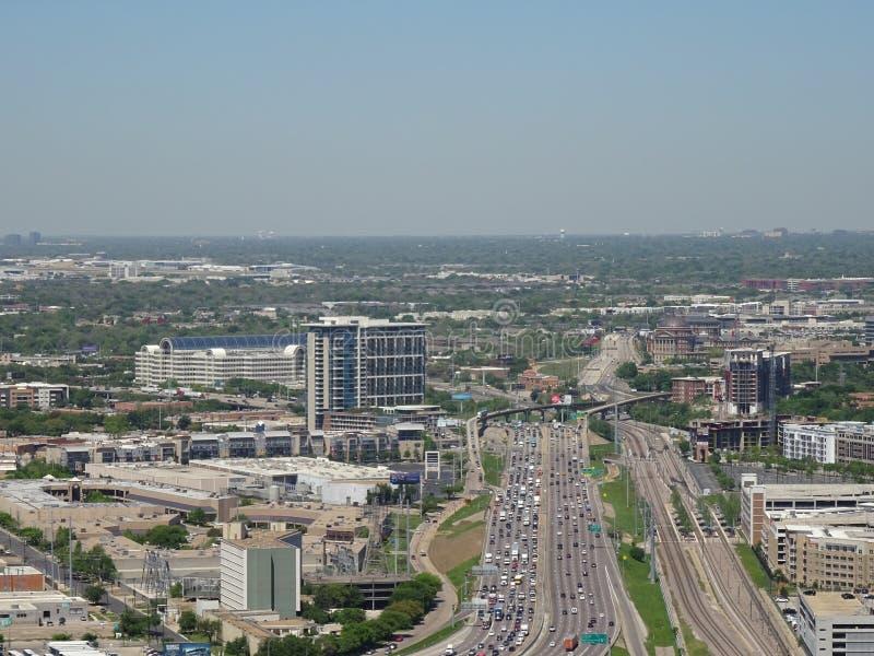 达拉斯得克萨斯风景 免版税图库摄影