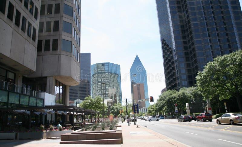 达拉斯街市得克萨斯 免版税库存图片