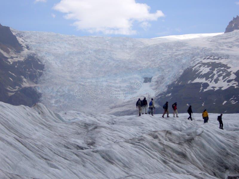 迁徙的冰 库存图片