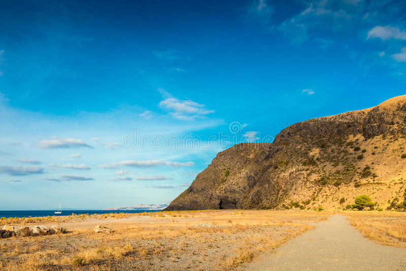 迅速海湾,南澳大利亚 免版税图库摄影