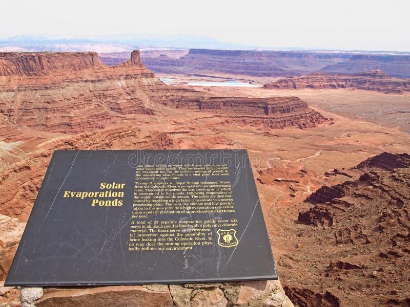 过时的问题点,科罗拉多河,犹他,美国 免版税库存图片
