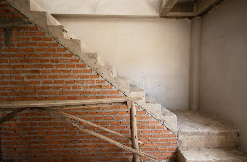 过程中建筑住宅的新房 免版税库存图片