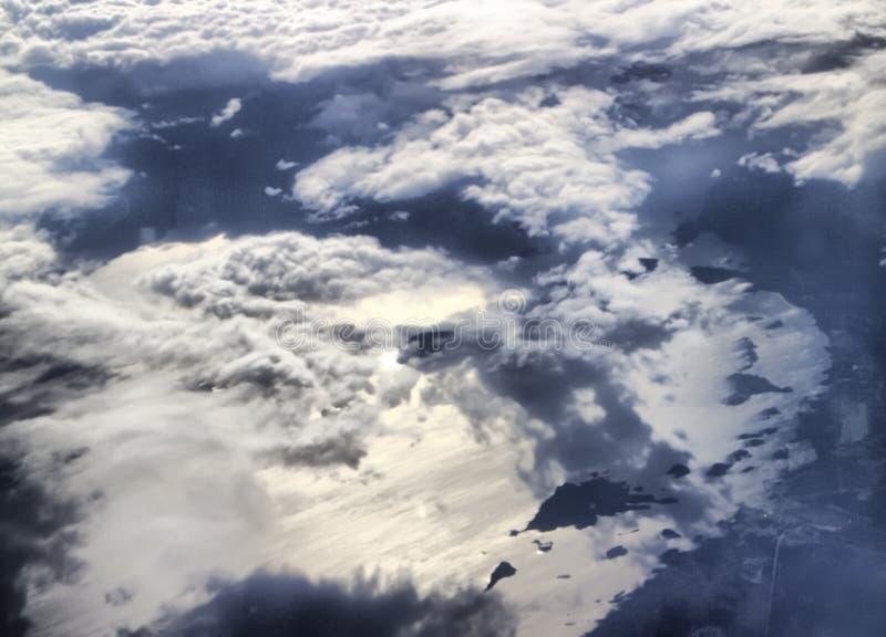 过高天堂般的看法湖国家 免版税图库摄影