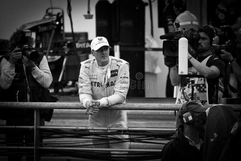 迈克尔Schumacher 库存照片