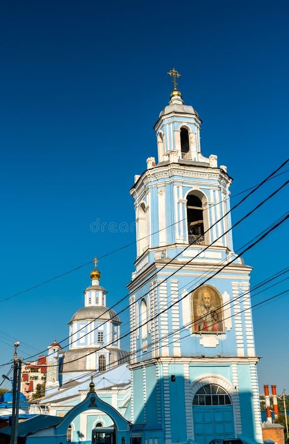 迈拉教会圣尼古拉斯在沃罗涅日,俄罗斯 库存图片