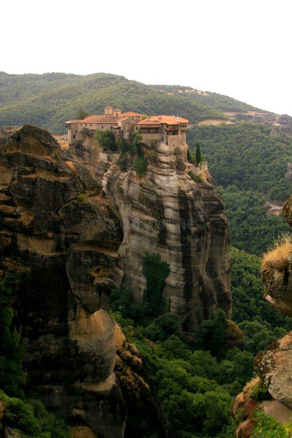 迈泰奥拉的三位一体修道院 库存照片