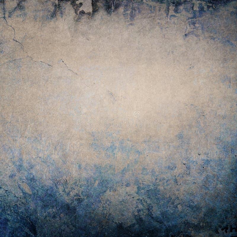 年迈的灰色-蓝色背景 库存例证