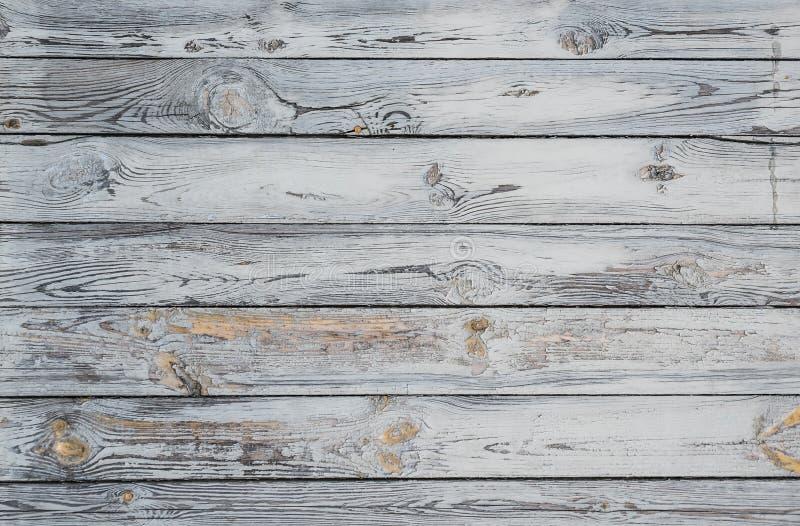 年迈的被索还的木头 库存图片