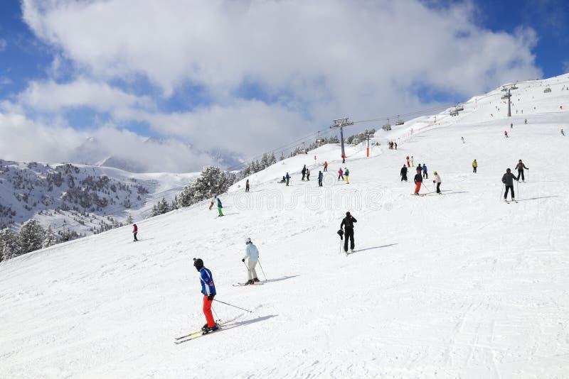 迈罗芬滑雪 免版税图库摄影