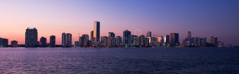 迈阿密全景 免版税库存图片