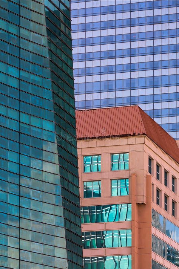 迈阿密建筑摘要 免版税图库摄影