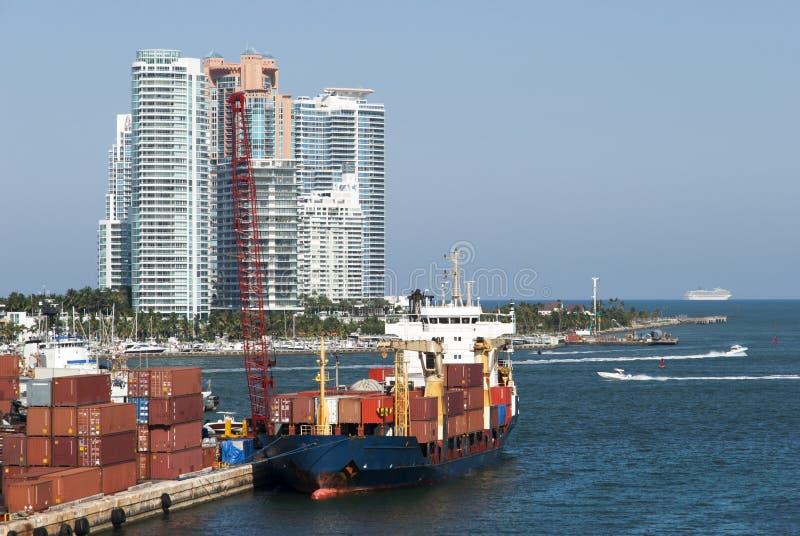 迈阿密海滩门户 库存图片